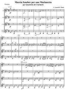 C. Gounod - Marcia funebre per una Marionetta
