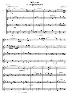 A. Piazzolla - Oblivion