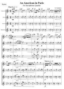 G. Gershwin - An American in Paris